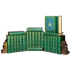 'Book Set' 24 Volumes, Joseph Conrad, Works, Sun-Dial Edition, Signed