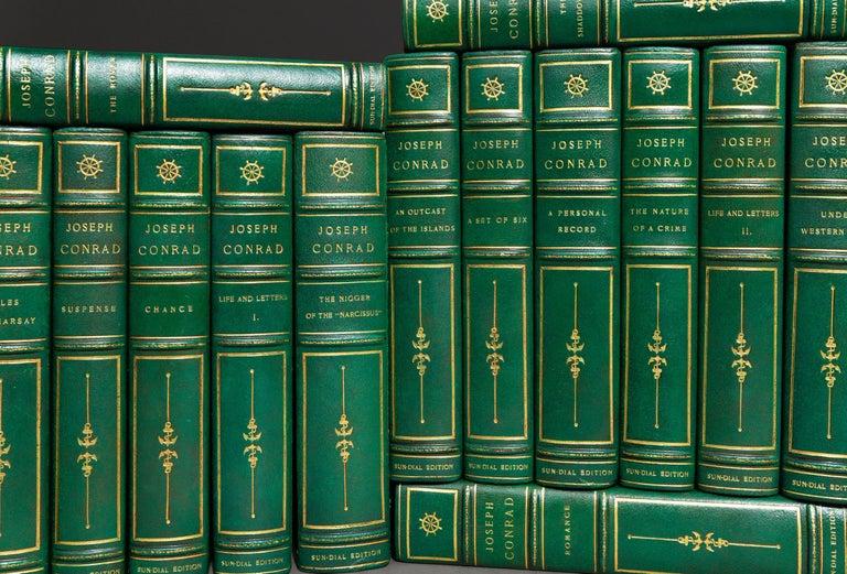 24 Volumes. Joseph Conrad. Works.