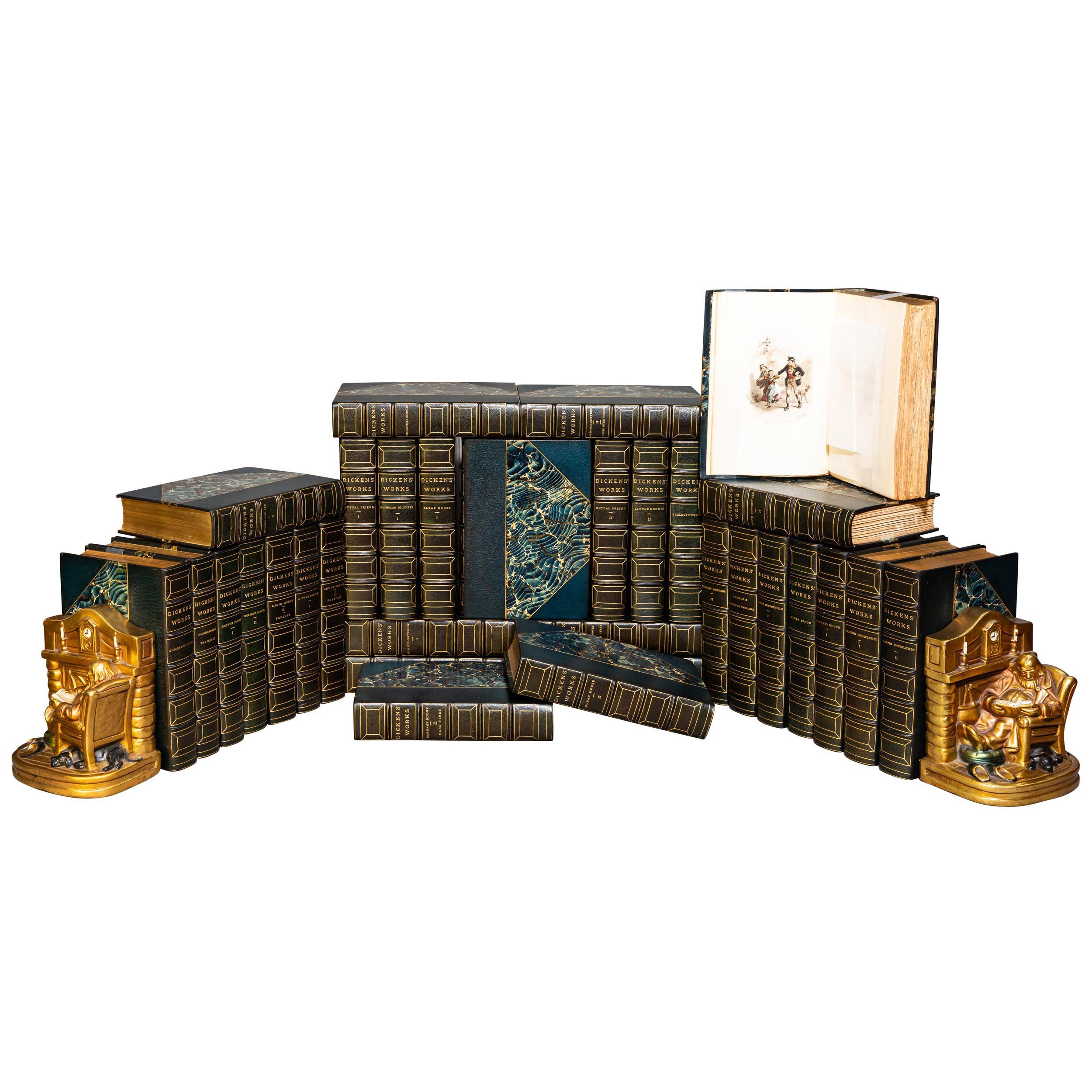 'Book Set' 32 Volumes, Charles Dickens, Complete Works