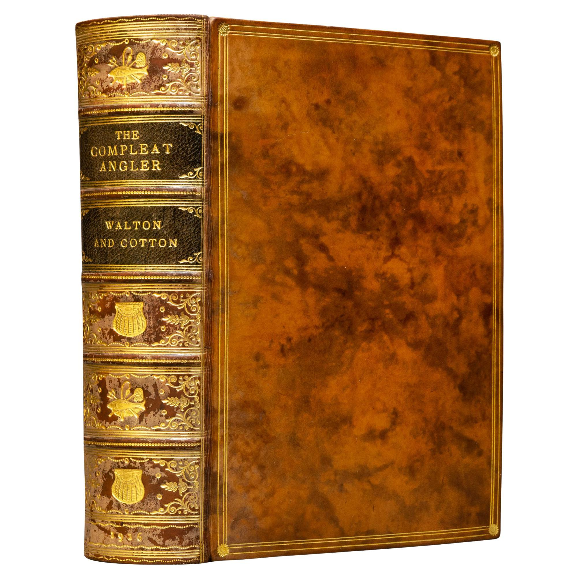 'Book Sets' 1 Volume, Izaak Walton & Charles Cotton, The Compleat Angler