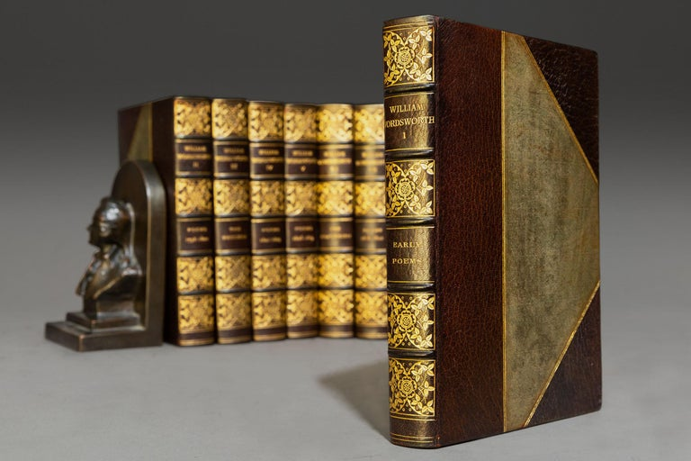 20th Century 'Book Sets' 10 Volumes, William Wordsworth, The Complete Works For Sale