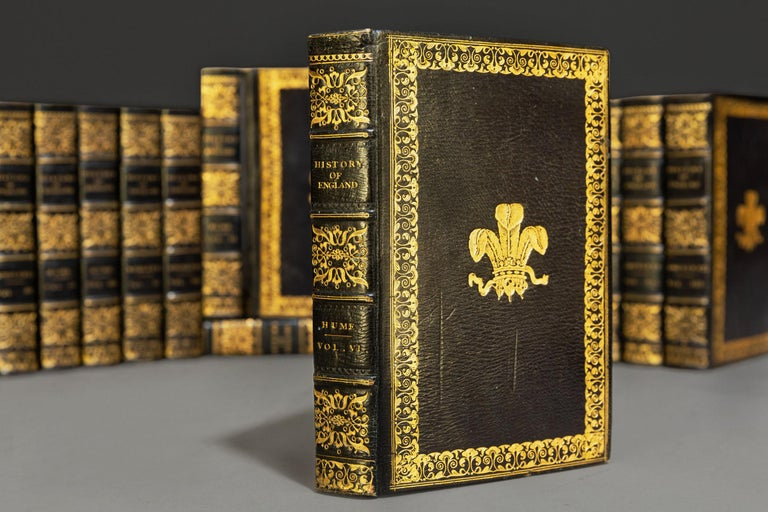 'Book Sets' 16 Volumes, David Hume & T. Smollett, The History Of England In Good Condition For Sale In New York, NY