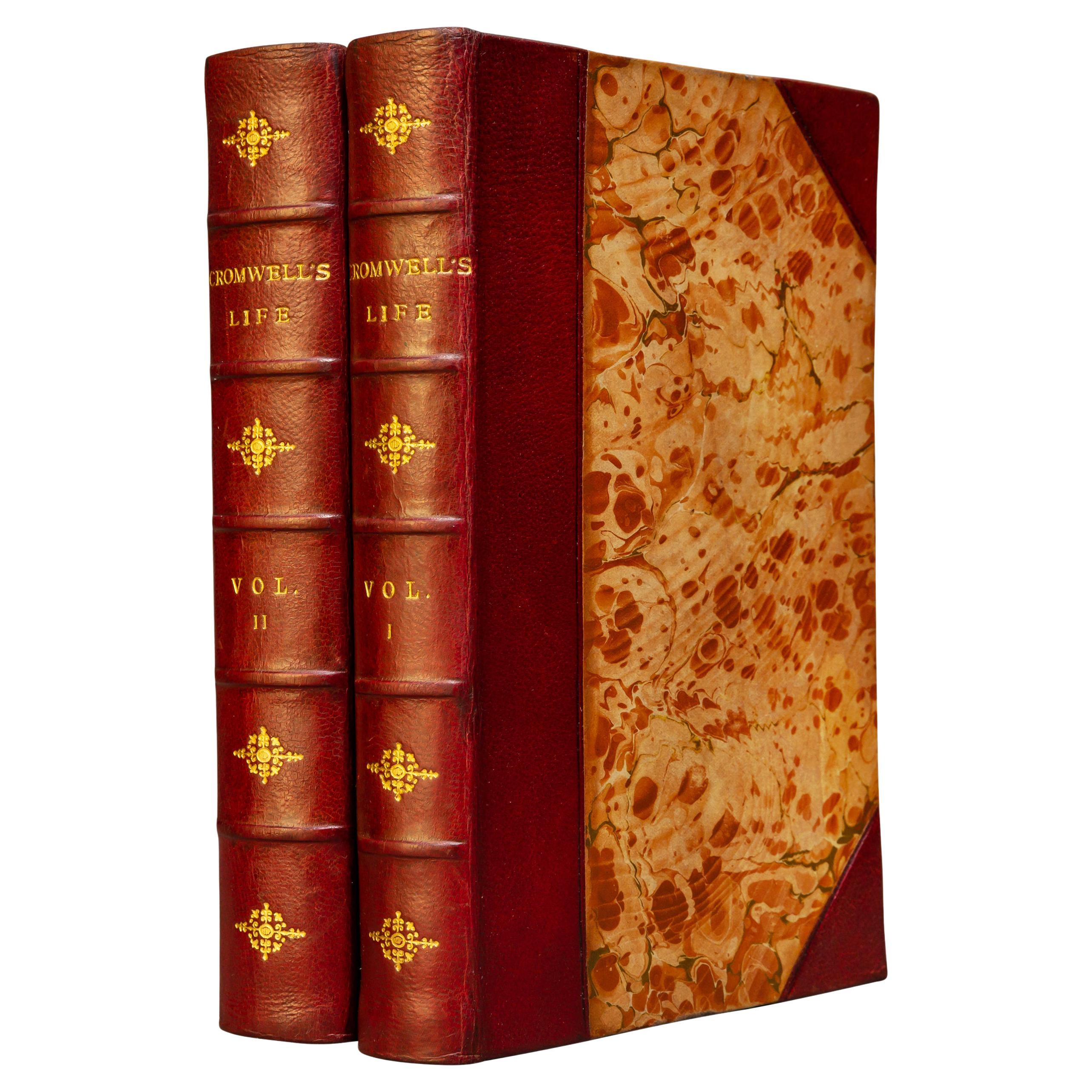 'Book Sets' 2 Volumes, Oliver Cromwell, The Memoirs