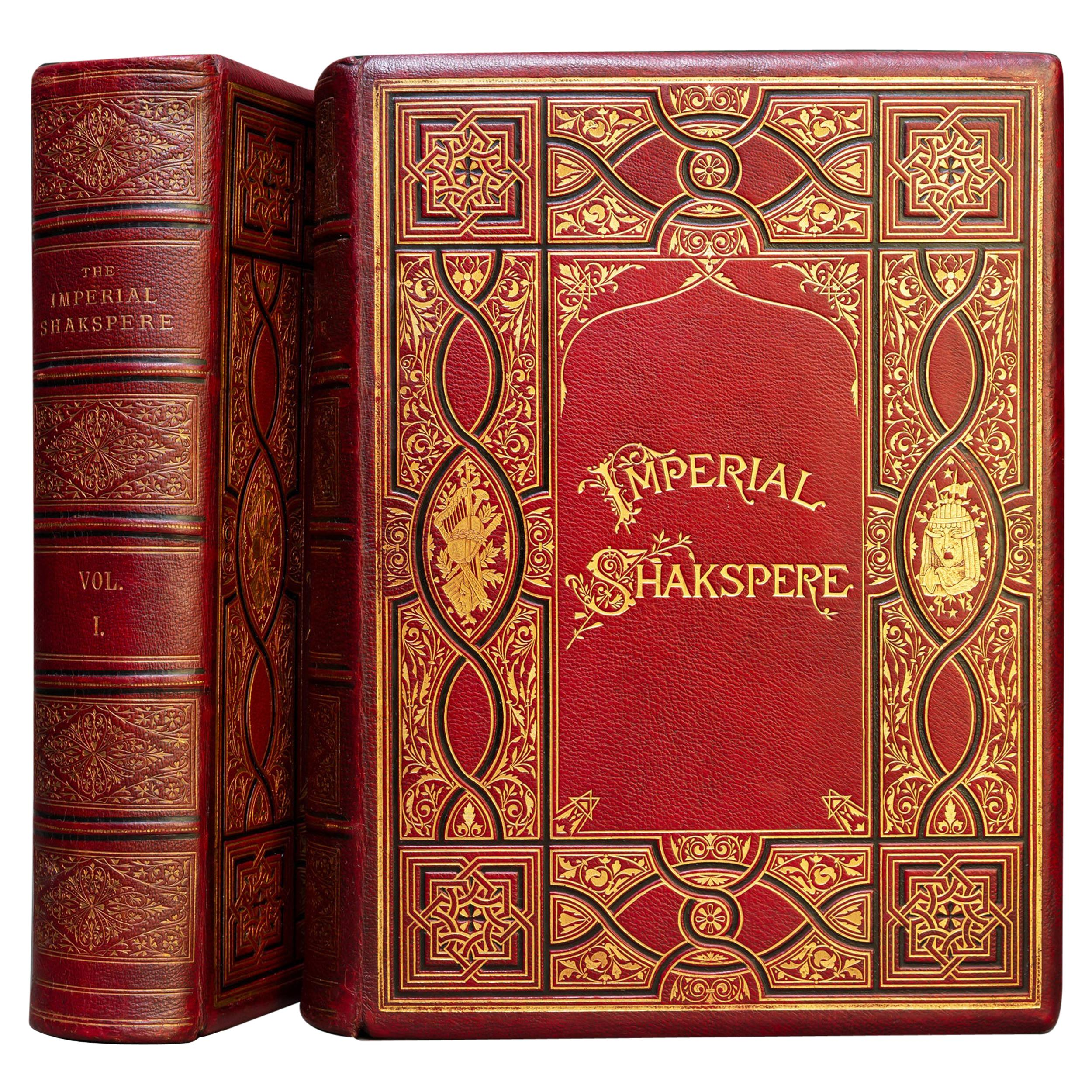 'Book Sets' 2 Volumes, William Shakespeare, The Complete Works