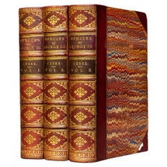 'Book Sets' 3 Volumes, J. Jesse. Memoirs of The Life & Reign of King George III