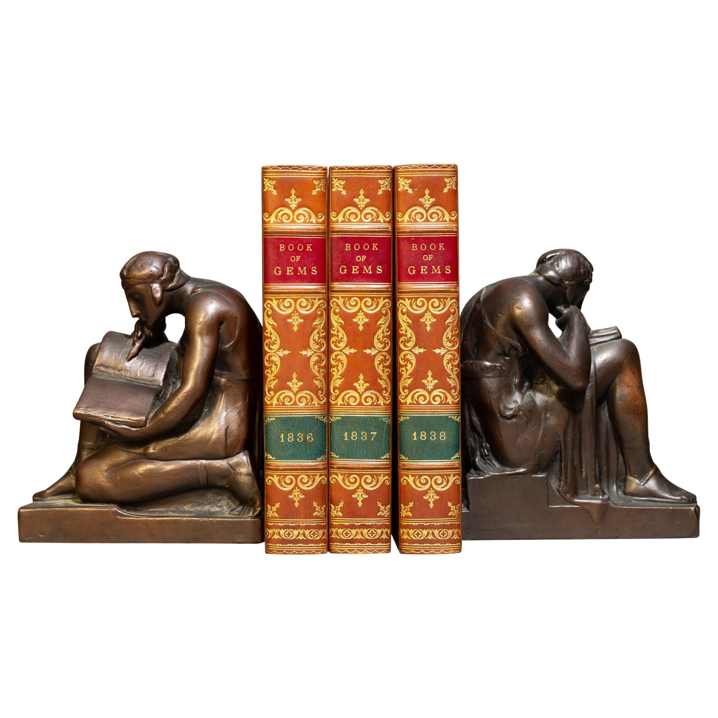 'Book Sets' 3 Volumes, S. C. Hall, The Book of Gems