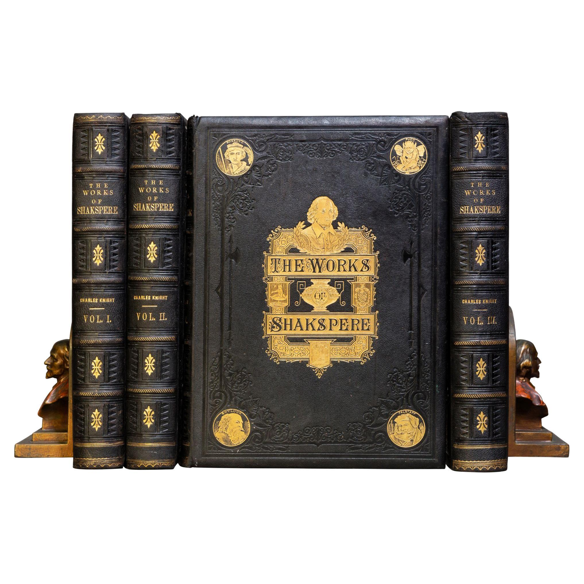 'Book Sets' 4 Volumes, William Shakespeare, The Complete Works