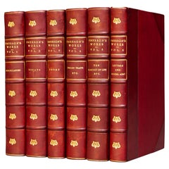 'Book Sets' 6 Volumes, Ralph Waldo Emerson, The Complete Works