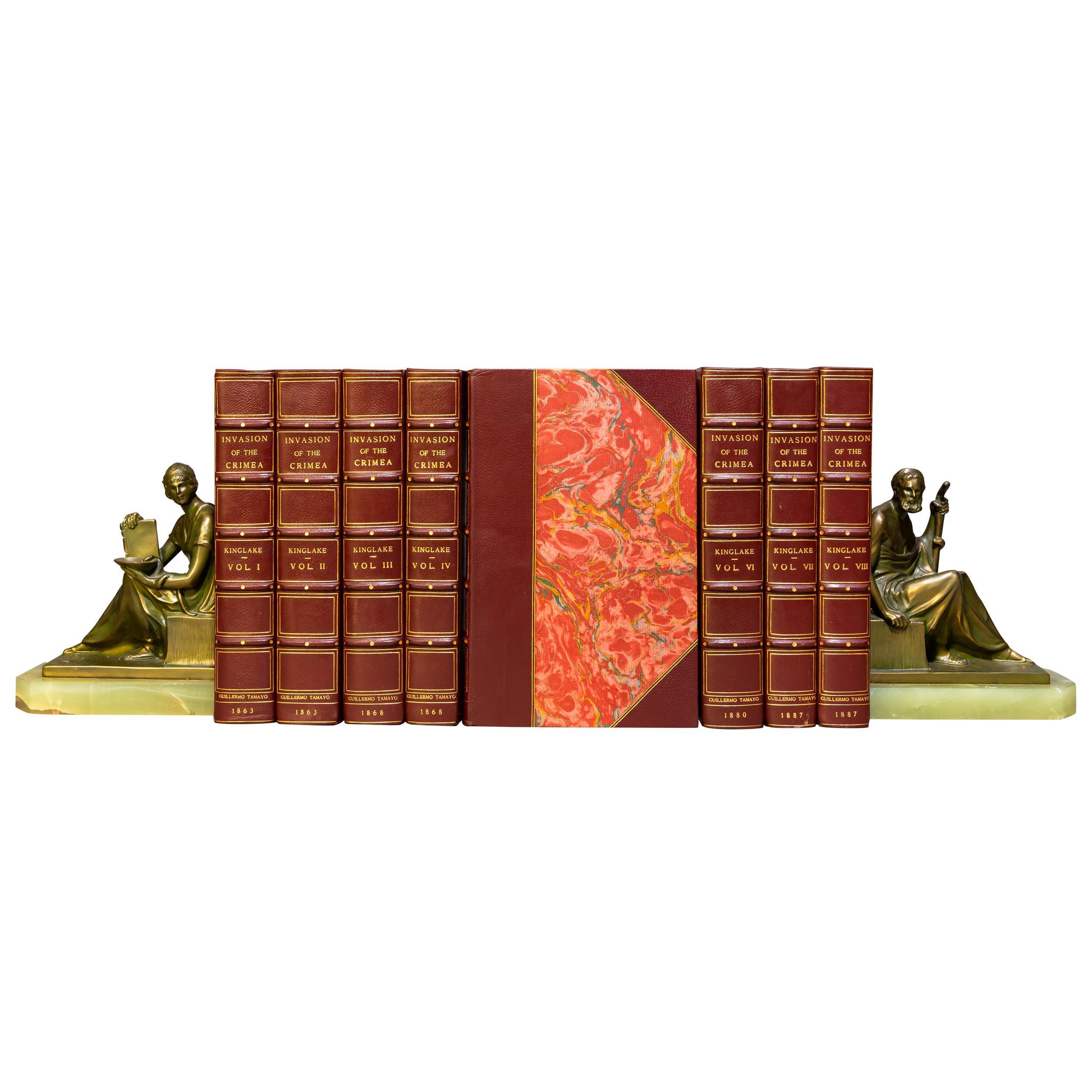'Book Sets' 8 Volumes, Alexander Kinglake, The Invasion Of The Crimea