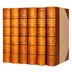'Book Sets', 8 Volumes, Charles Knight, The Popular History Of England