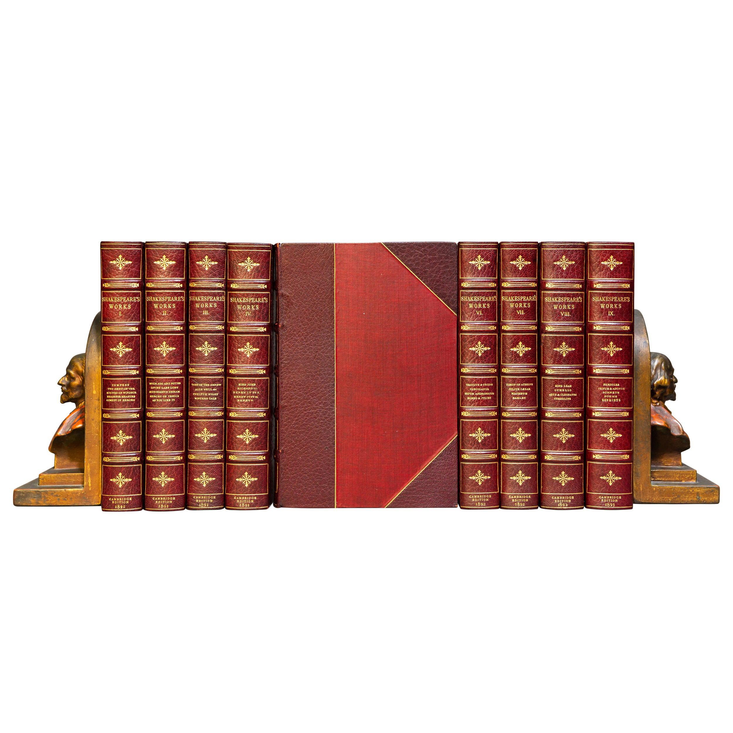 'Book Sets' 9 Volumes, William Shakespeare, The Complete Works