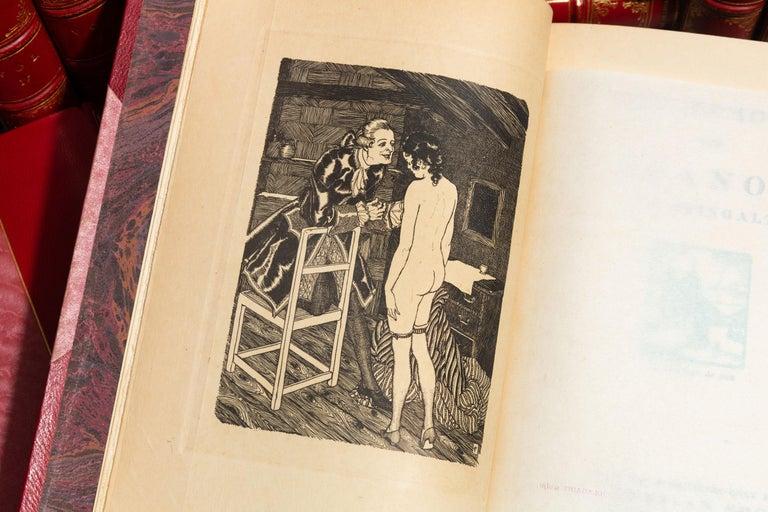 English Book Sets, Jacques Casanova, The Memoirs of Casanova For Sale