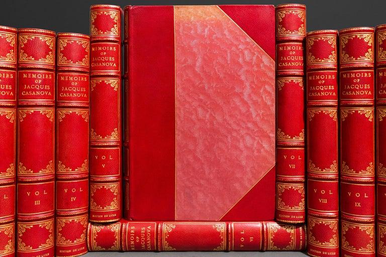 20th Century Book Sets, Jacques Casanova, The Memoirs of Casanova For Sale