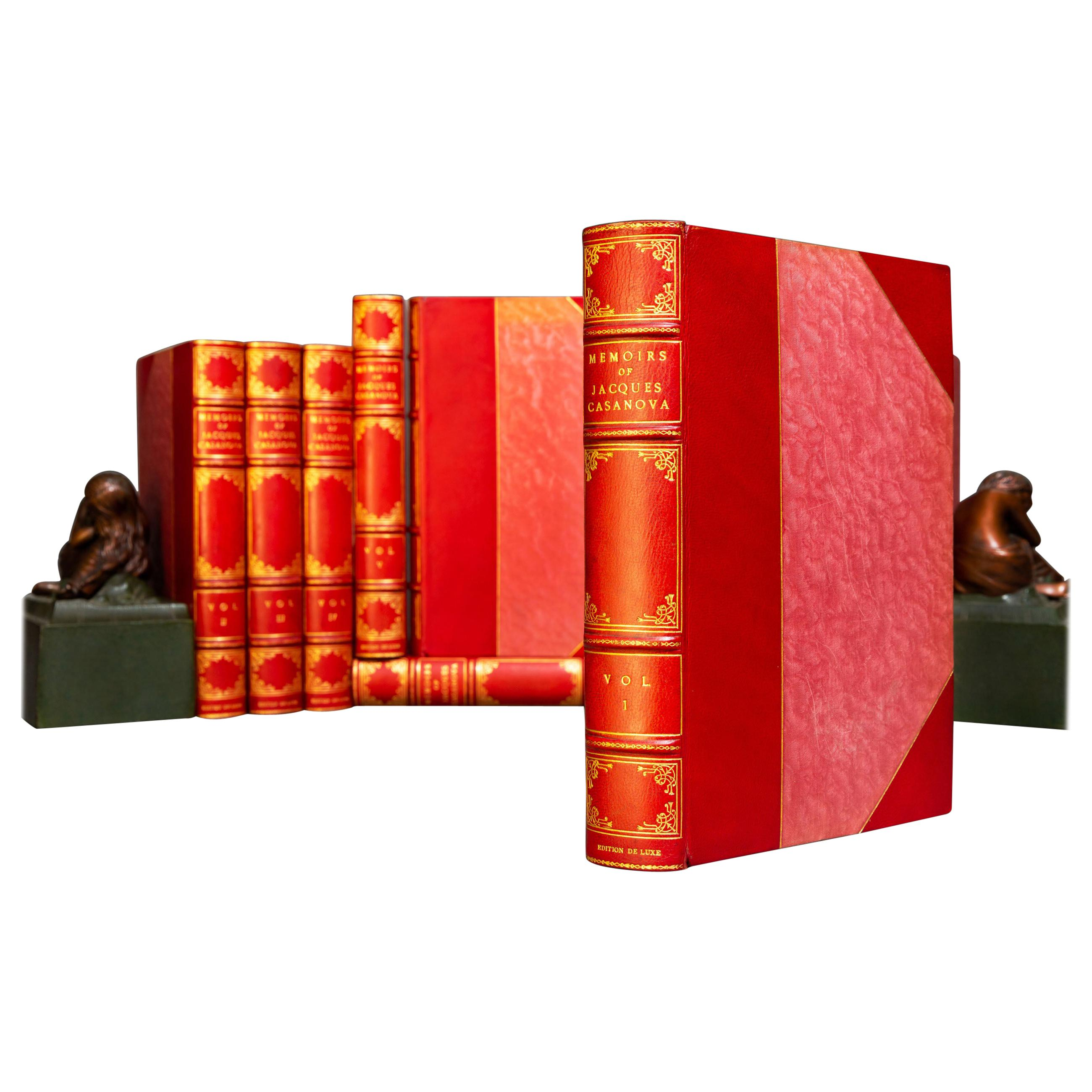 Book Sets, Jacques Casanova, The Memoirs of Casanova