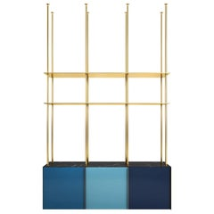 Bookcase 01 Blue