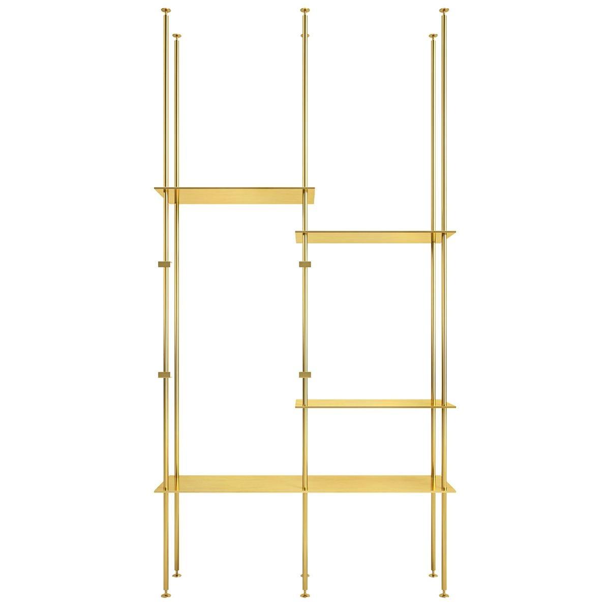Bookcase 02 Brass