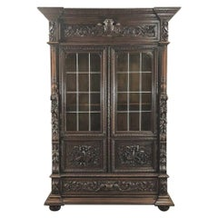 Bookcase, 19th Century French Renaissance