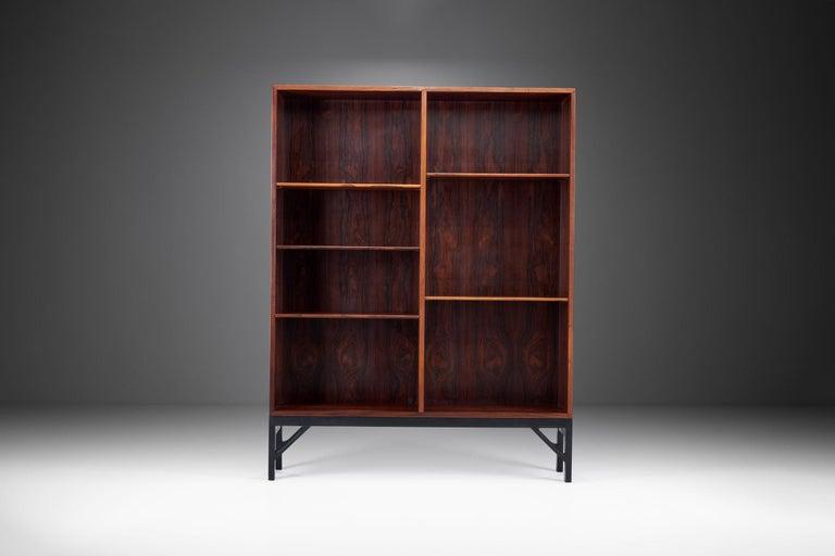Mid-Century Modern Bookcase by Børge Mogensen for C. M. Madsen, Denmark, 1950s For Sale