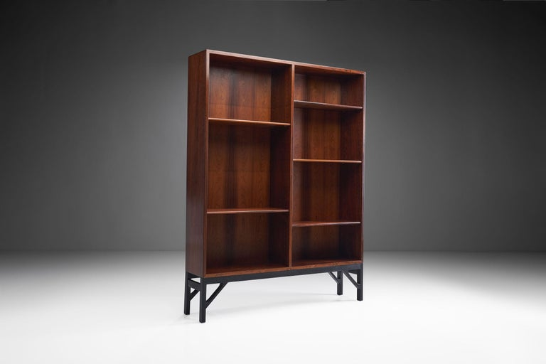 Danish Bookcase by Børge Mogensen for C. M. Madsen, Denmark, 1950s For Sale
