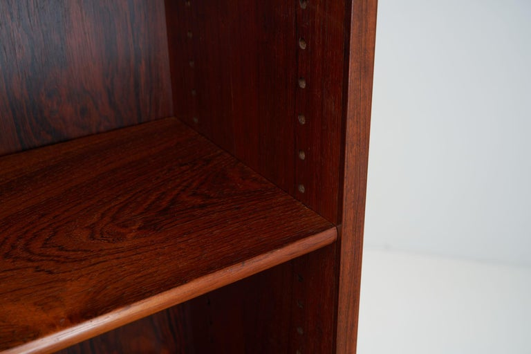 Wood Bookcase by Børge Mogensen for C. M. Madsen, Denmark, 1950s For Sale