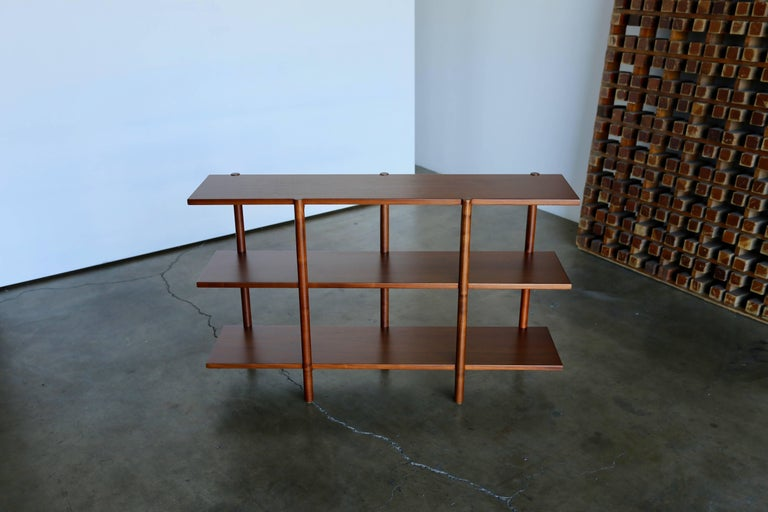 Walnut Bookcase by Milo Baughman for Glenn of California For Sale