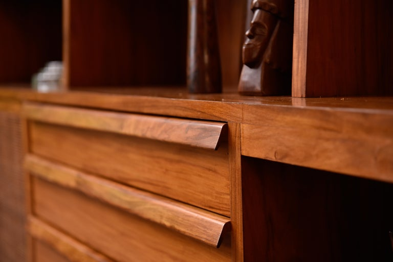 Mid-20th Century Bookcase by Teperman 50's For Sale