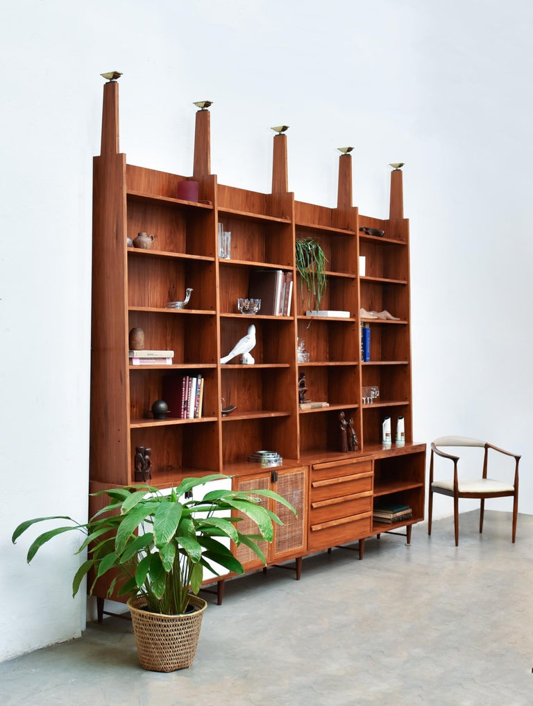 Bookcase by Teperman 50's For Sale 2