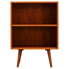 Bookcase Danish Design 1970s Teak Vintage