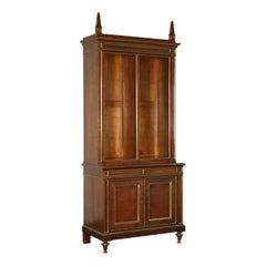 Bookcase Empire Mahogany Veneer Sessile Oak France Early 19th Century