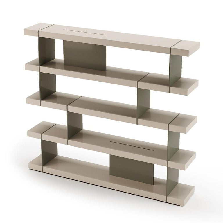 Lacquered Bookcase For Sale