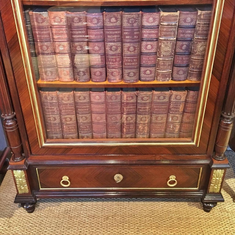 Napoleon III  Bookcase.. French C 1890. For Sale