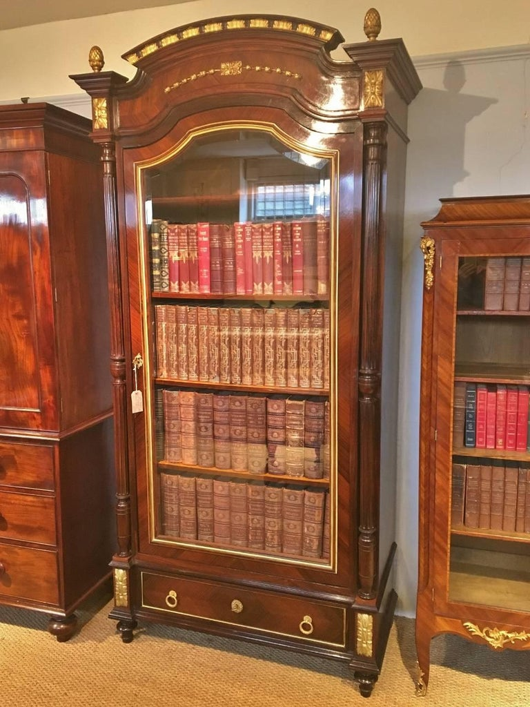 Bookcase.. French C 1890. In Good Condition For Sale In Honiton, Devon