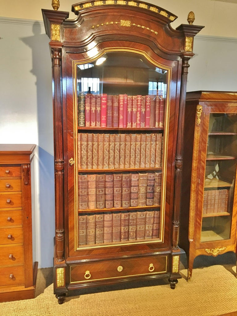 Late 19th Century  Bookcase.. French C 1890. For Sale