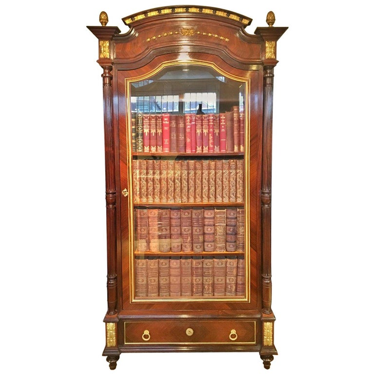 Bookcase.. French C 1890. For Sale