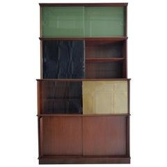 Bookcase Midcentury Oscar by Didier Rozaffy