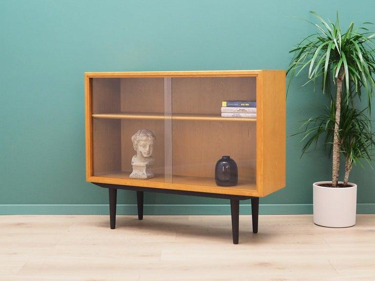 Bookcase Oak, Danish Design, 1960s, Producer Søborg, Designer Mogensen In Good Condition For Sale In Szczecin, Zachodniopomorskie