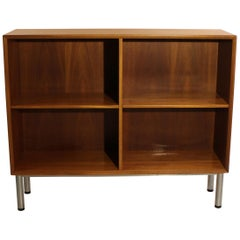 Bookcase of Light Mahogany and Danish Design from the 1960s