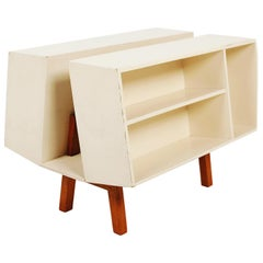 Bookcase Penguin Donkey Mark 2 for Isokon by Ernest Race, Uk 1963