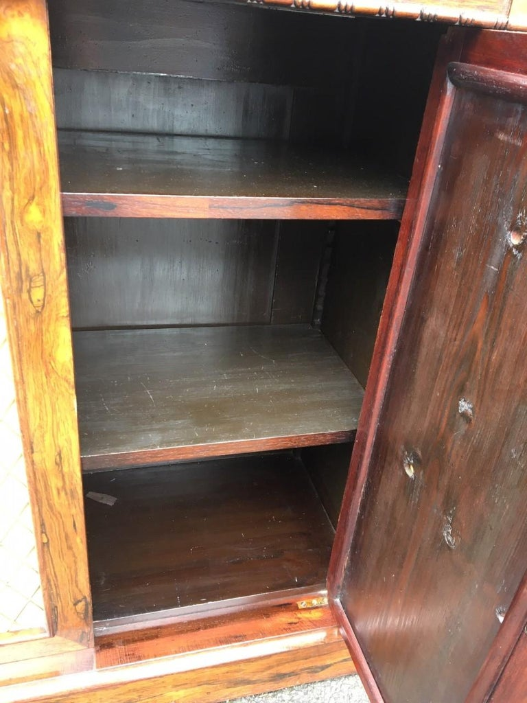 Bookcase Regency, English, Rosewood, Early 19th Century For Sale 6