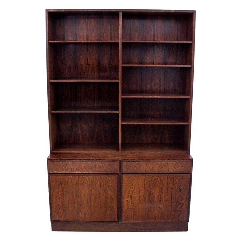 Bookcase, Rosewood, Danish Design, 1960s For Sale