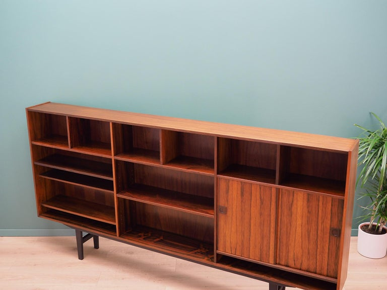 Mid-20th Century  Bookcase Rosewood, Danish Design, 1960s, Producer Farsø For Sale