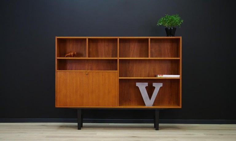 Bookcase Scandinavian Design Teak Vintage At 1stdibs