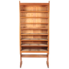 Bookcase Solid in Patinated Pine Designed by Martin Nyrop for Rud Rasmussen