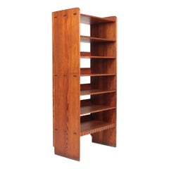 Bookcase Solid in Patinated Pine Designed by Martin Nyrup for Rud Rasmussen