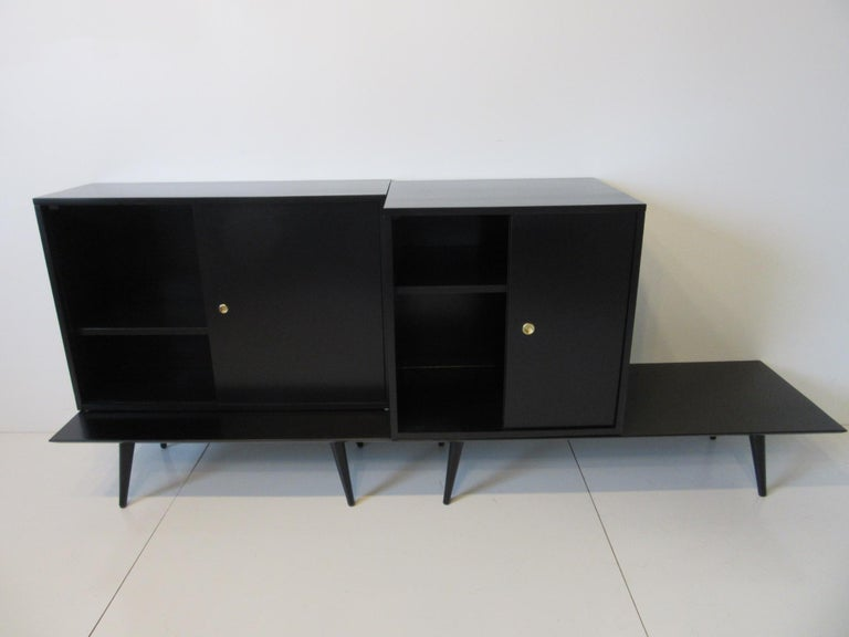Bookcase/Storage Cabinet Set by Paul McCobb   For Sale 4