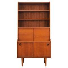 Bookcase Teak, Danish Design, 1960s