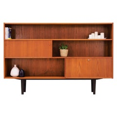 Bookcase Teak, Danish Design, 1970s
