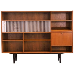 Bookcase Teak, Danish Design, 1970s