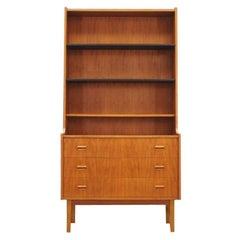 Bookcase Teak Danish Design Vintage, 1960s