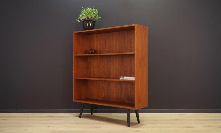 Scandinavian Bookcase Teak Vintage Danish Design, 1960s-1970